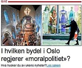 Aftenpostens quiz om moralpolitiet
