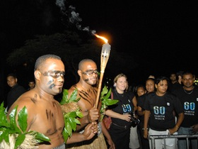 Earth Hour Warrior