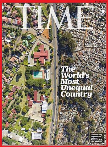 Time Cover Sør-Afrika